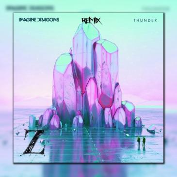 Imagine Dragons & K.Flay  (Thunder (Official Remix))